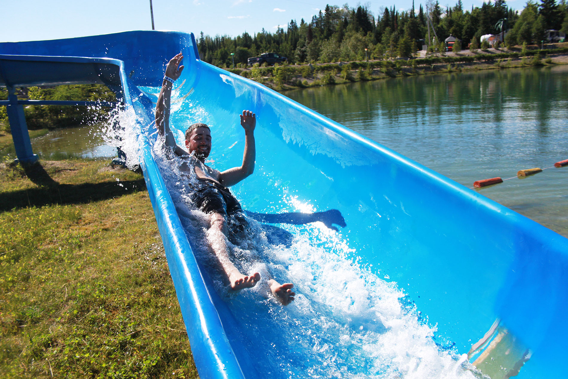 Water Slides – Twin Lakes Camping